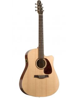 Seagull Coastline S6 Slim CW Acoustic-Electric Guitar - Solid Spruce