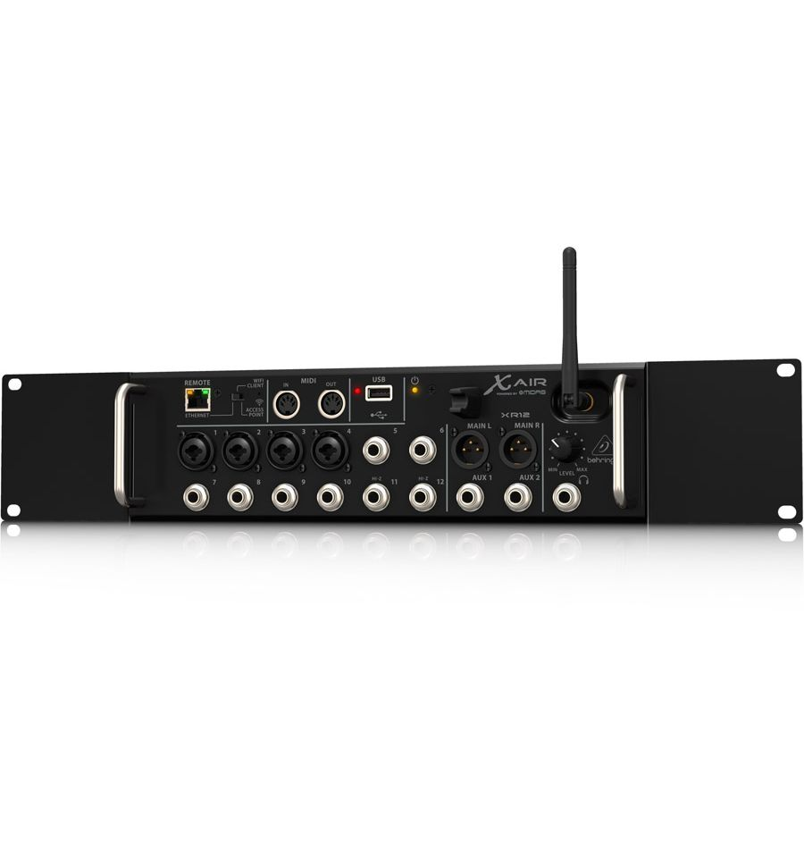 behringer x air xr12 digital mixer sound centre. Black Bedroom Furniture Sets. Home Design Ideas
