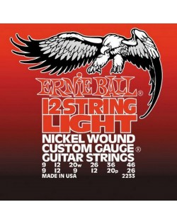 Ernie Ball 9-46 12 String Electric Light Slinky Nickel Wound