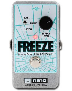 Electro Harmonix Freeze Sound Retainer Pedal