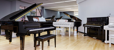 Sound Centre Pianos Piano Room