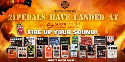 21 Electro-Harmonix pedals have just landed at the Sound Centre!