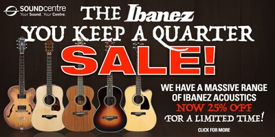 Ibanez You Keep a Quarter Sale