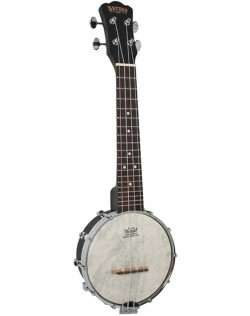 Bryden SBU610 Open Back Banjo Ukulele - Black Satin