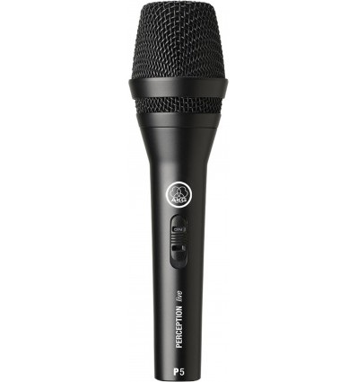 AKG P5 S Dynamic Supercardioid Microphone With Switch