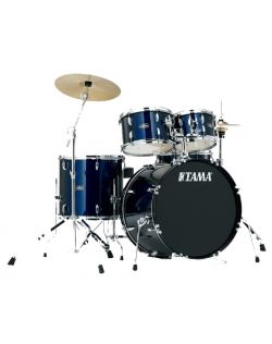 Tama SG50H5C 5 Piece Stagestar Drumkit With Hardware and Cymbals - Dark Blue