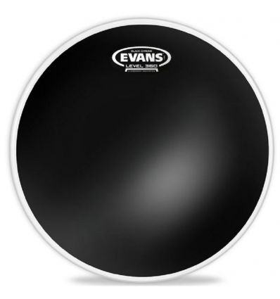 Evans TT18CHR 18 Inch Black Chrome Tom Drumhead