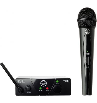 AKG WMS40 Mini Handheld Wireless Microphone System - Band A