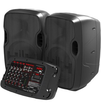 HH Electronics S2-210 SYSTEM Fully Integrated Portable Active Audio System With Mixer