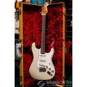 Fender Custom Shop 2018 Limited Edition Roasted Tomatillo Stratocaster Heavy Relic Electric Guitar - Aged Olympic White