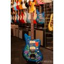 Fender Made In Japan Traditional '60s Jazzmaster Electric Guitar - Blue Flower