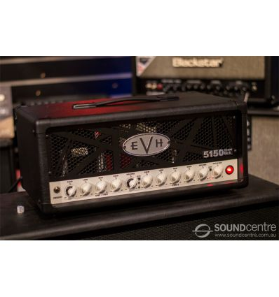 EVH 5150III 50W 6L6 Head with Concentric Volume - Black