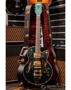Gretsch G6659TG Players Edition Broadkaster Jr Semi-Hollow Body - Cadillac Green