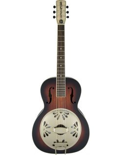Gretsch G9240 Alligator Biscuit Round-Neck Resonator - Vintage Sunburst