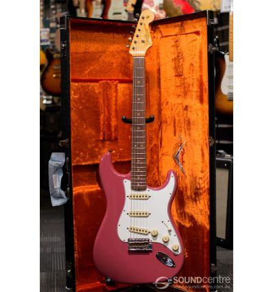 Fender Custom Shop 2018 Limited Edition 1964 Stratocaster Journeyman Relic - Super Faded Aged Cimarron Red