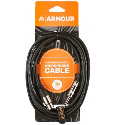 Armour CJP10 HP CAN/JACK 10 Foot Lead