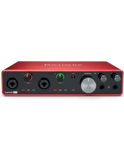 Focusrite Scarlett 8i6 Generation 3 8-In/6-Out USB-C Audio Interface