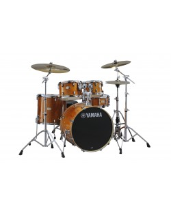 "Yamaha Stage Custom Birch 22"" Fusion Drum Kit With Bonus 14"" Floor Tom and Paiste PST5 Cymbal Pack"