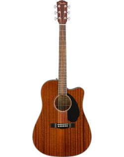 Fender CD-60SCE Dreadnought Acoustic-Electric Guitar - Mahogany