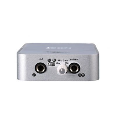 iCON Cube Mini Compact 2-In 1 USB Recording Interface