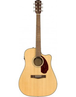 Fender CD-140SCE Dreadnought Acoustic-Electric Guitar In Case - Natural Finish
