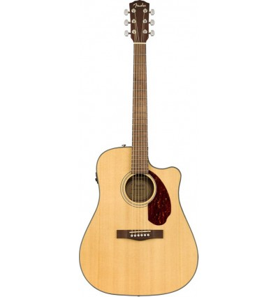 Fender CD-140SCE Dreadnought Acoustic-Electric Guitar - Natural Finish