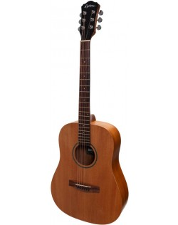 Martinez Middy Traveller Acoustic Guitar - Mahogany