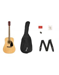 Fender FA-115 Dreadnought Acoustic Guitar Pack - Natural