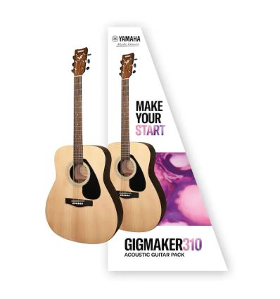 Yamaha Gigmaker 310 Dreadnought Size Acoustic Guitar Pack