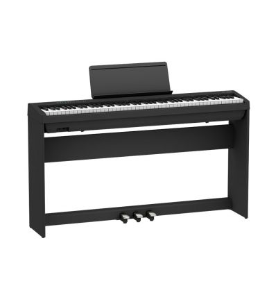 Roland FP-30X Digital Piano Bundle With Stand And Pedals