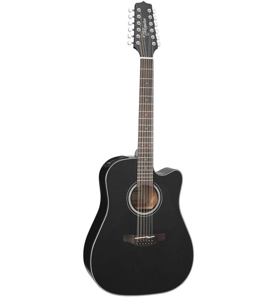 Takamine Gd30ce Acoustic Electric 12 String Guitar Black