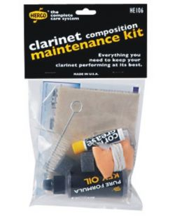 Herco Composite Clarinet Maintenance Kit