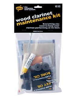 Herco Wood Clarinet Maintenance Kit
