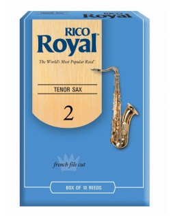 Rico Royal Tenor Saxophone 2.0 Reeds - 10 Pack