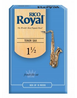 Rico Royal Tenor Saxophone 1.5 Reeds - 10 Pack