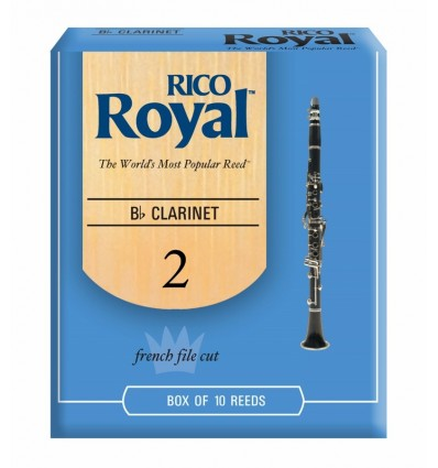 Rico Royal Bb Clarinet 2.0 Reeds - 10 Pack