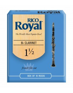 Rico Royal Bb Clarinet 1.5 Reeds - 10 Pack