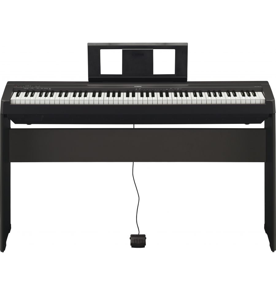 yamaha p45b 88 weighted key digital piano kit with l85 stand at sound centre perth australia. Black Bedroom Furniture Sets. Home Design Ideas