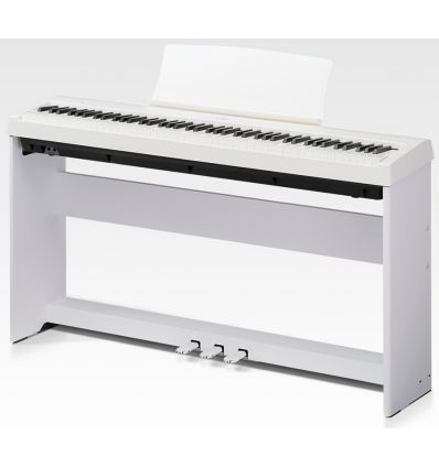 Kawai ES110 Digital Piano Kit with Stand and Pedalboard - White