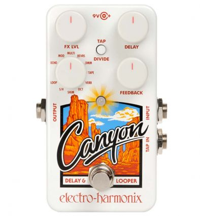 Electron Harmonix Canyon Delay and Looper Pedal