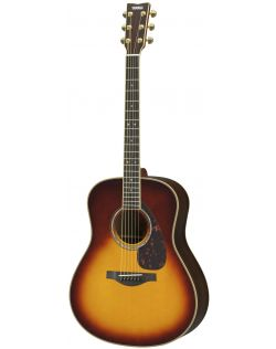 Yamaha LL16 TransAcoustic Guitar - Brown Sunburst