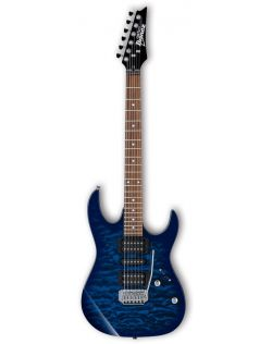 Ibanez GRX70QA GIO Series Electric Guitar - Transparent Blue Burst