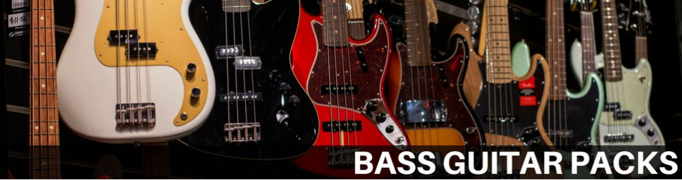 Bass Guitar Packs