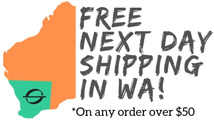 next day WA shipping logo