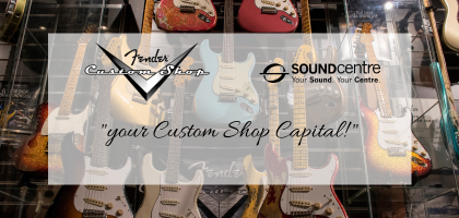 Fender Custom Shop at Sound Centre
