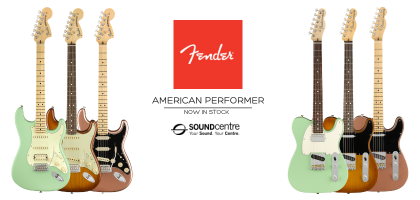 Fender American Performer Series At Sound Centre