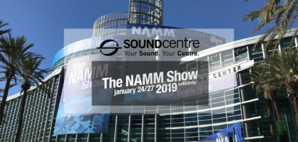 Sound Centre at NAMM 2019