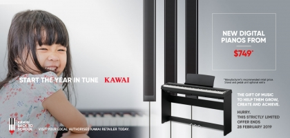Start The Year In Tune With Kawai