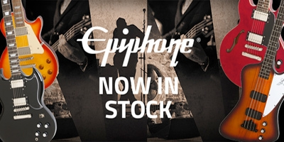 The return of Epiphone to the Sound Centre ranks