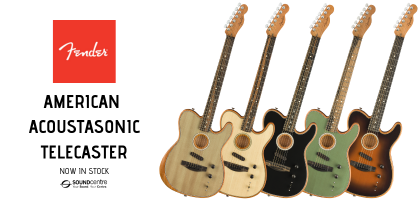 Fender American Acoustasonic Telecaster At Sound Centre